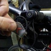 ...mounted on handlebar